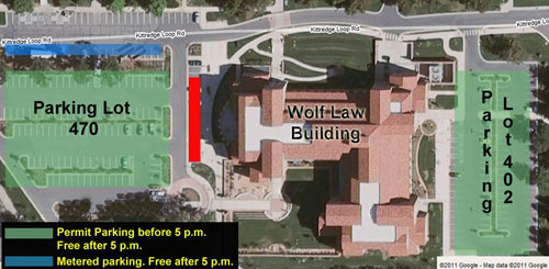 Wolf Law Building parking